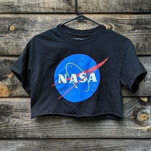 Chemistry NASA Crop Top